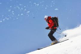 Skialpinismus v laponsku Haute route severu