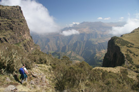 Podzimní turistika a treking ve světě