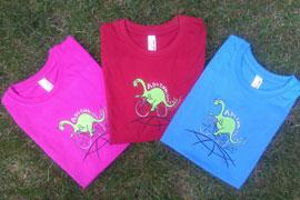 Nová dětská trička s Adventosaurem
