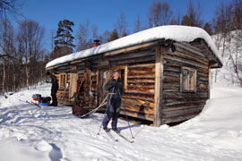 Do Laponska sběžkami