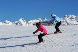 Sjezdové lyžování v Alpách