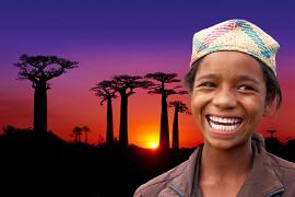 Martin Loew promítá Madagaskar