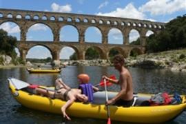 Letní jízda na vodě