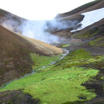 Islandské vnitrozemí, Island
