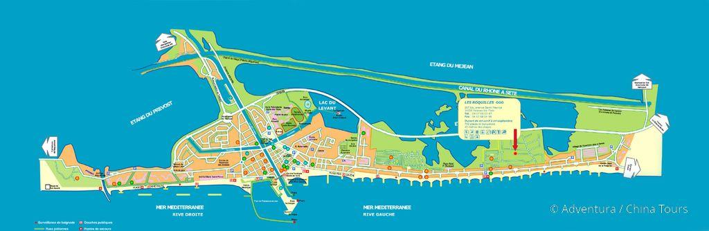 Palavas-les-Flots mapa