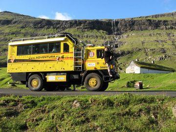 První kilometry po Islandu