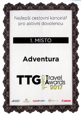TTG Travel Awards 2017