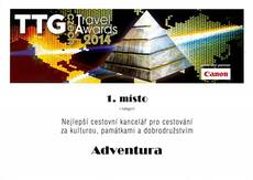 TTG 2014 - diplom - 1. místo