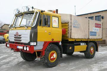 Podvozek po repasi včetně rekonstrukce a modernizace budky řidiče