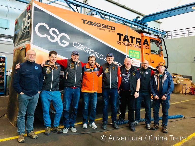 Setkání tatrabus týmu v Kopřivnici 2019