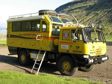 Poprvé na Islandu