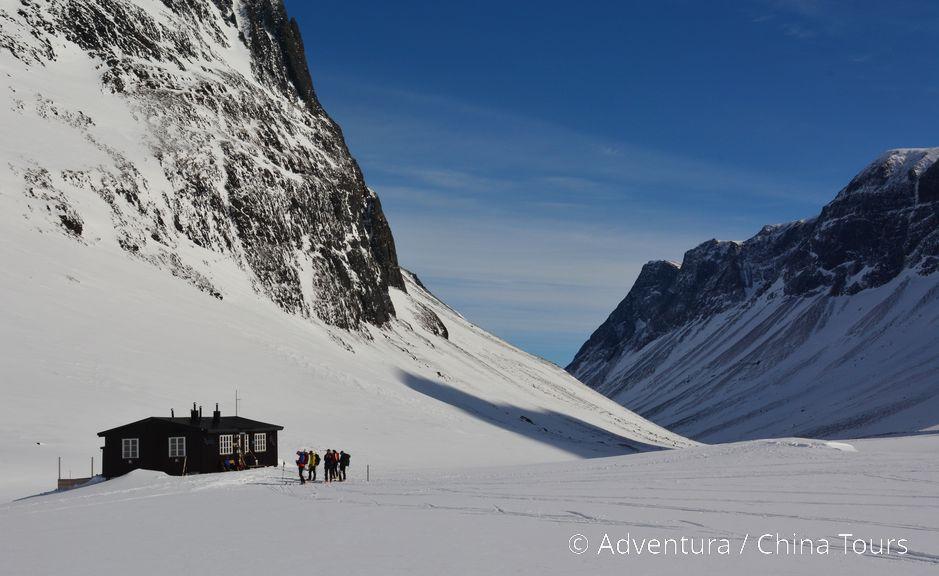Útulná a romantická horská chatka  Nallostugan
