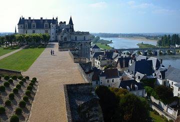 Zámek Amboise nad Loirou
