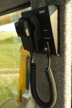 Komunikace z nástavby k řidičům