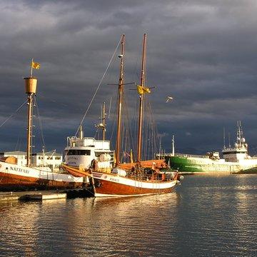 Přístav Husavík, Island