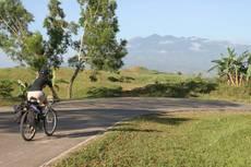 Sopečné vnitrozemí ostrova Negros