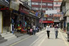 Káthmándú - v ulicích Thamelu panuje klid
