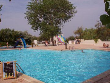 Bazén v kempu (Palavas-les-Flots)