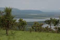 Akagera - rwandský národní park