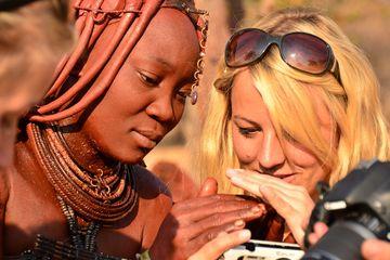 1. místo:Kateřina Nováková (Namibie)