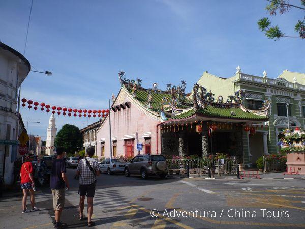 Čínská architektura v Penangu