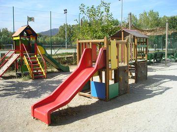 Dětské hřiště v kempu (Port Grimaud)