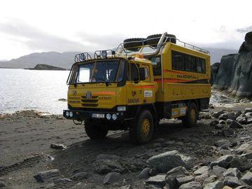 Tatrabus s mořem