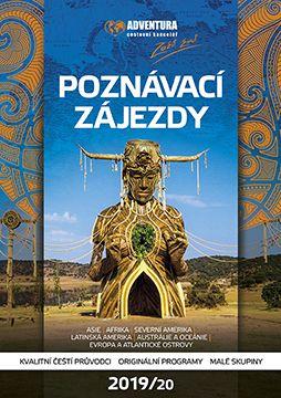 Přední strana katalog poznávací zájezdy 2019