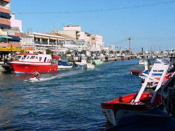 Palavas-les-Flots městečko