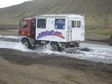 Růžena II na Islandu 2007