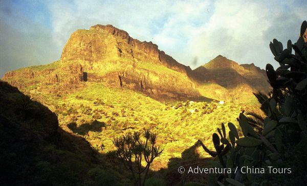 Tenerife - soutěska Masca