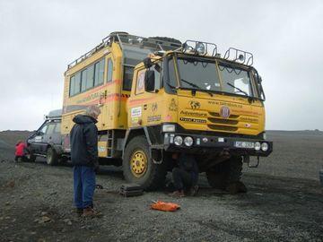 Zase na Islandu, po dakarské expedici jsem trochu unavenej
