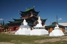 Bajkal - Ivolginský dacan - centrum buddhismu v Rusku