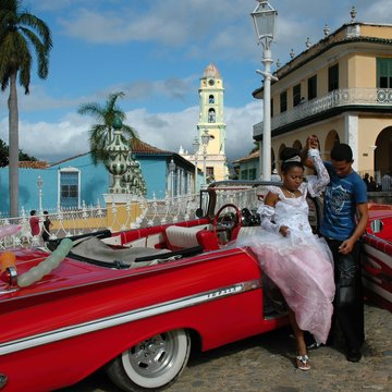 Oslava 15. narozenin, Trinidad