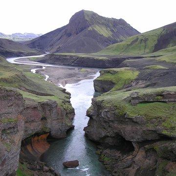 Ve vnitrozemí, Island