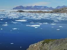 Pobřeží východního Grónska