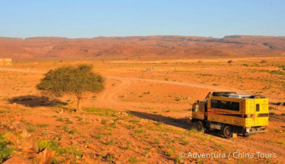 Tatrabus v Maroku