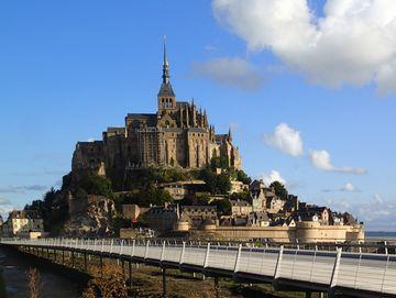 Monumentální Mont Saint Michel
