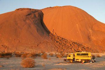 Pod dunami v Mauritánii 2010