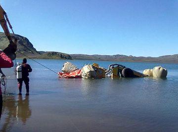 Můj nejhorší zážitek v islandském jezeru Blautulon, ale už se netopim, plavu!